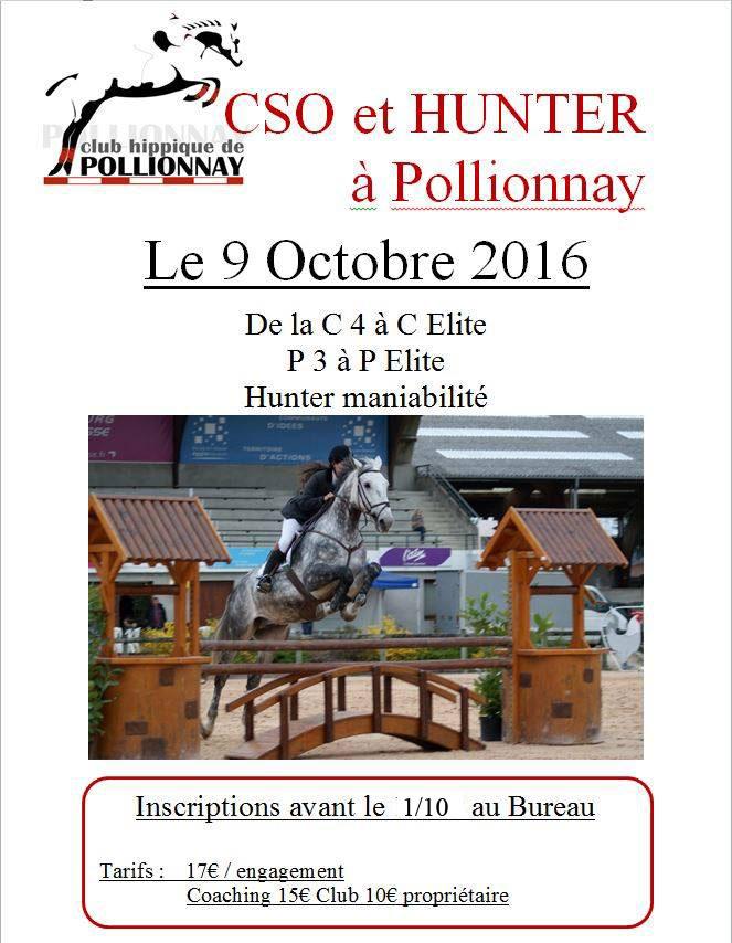 concours hunter à Pollionnay