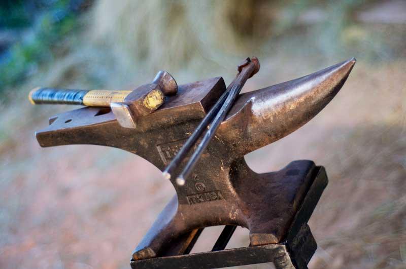 Les outils du maréchal ferrant