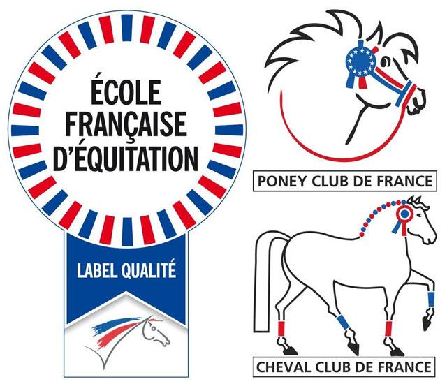 CE Pollionnay : Labellisée École française d'équitation