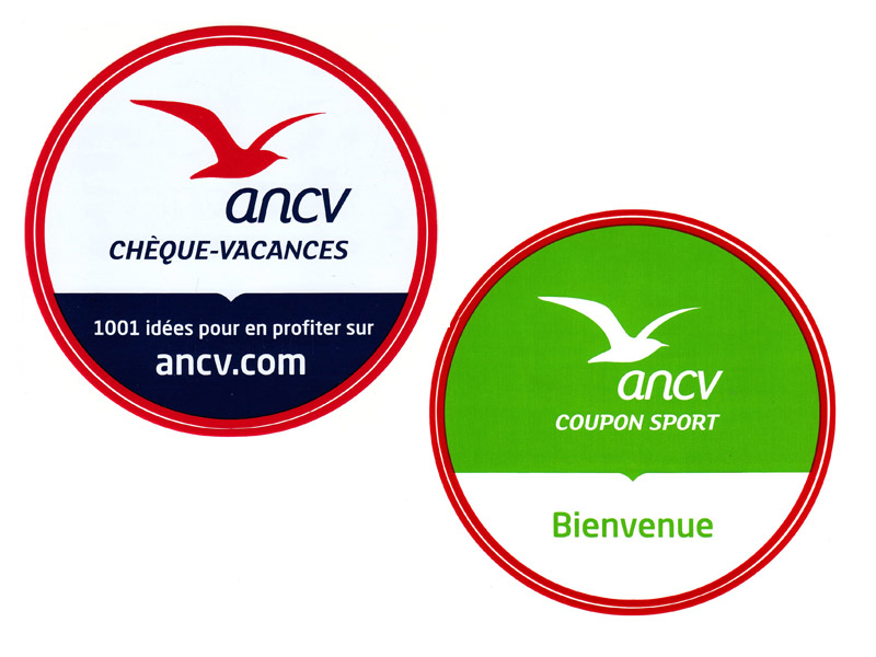 Chèques vacances et coupons sport ANCV